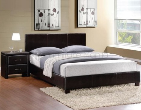 Contemporary Upholstered Bed Frame Furniture Manila