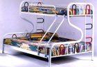 HF2828 R-type Bunk Bed