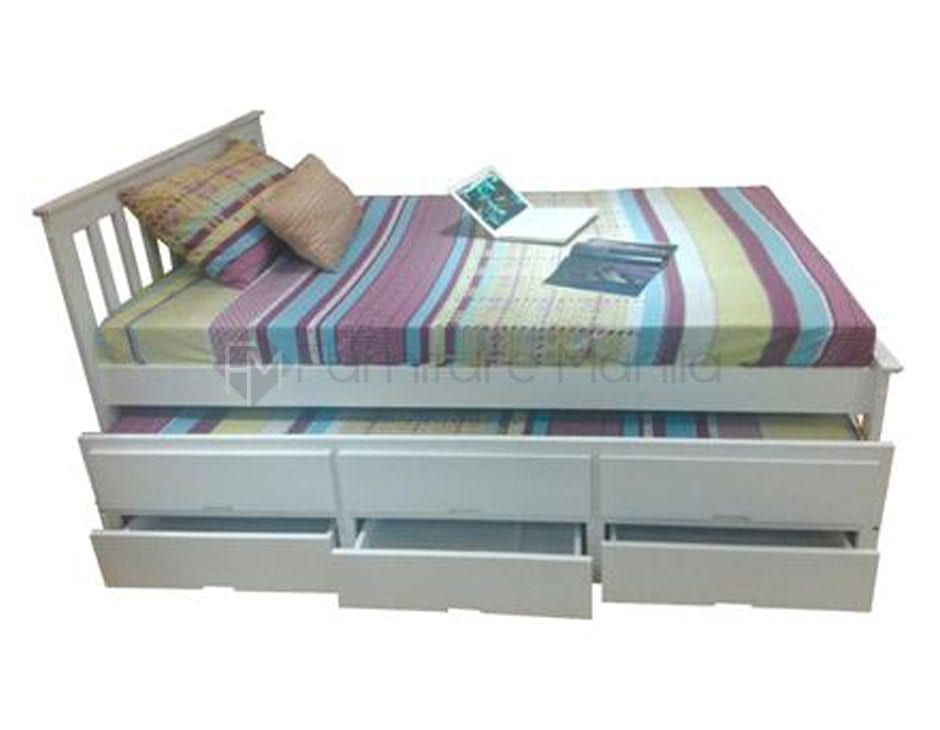 Galvin Trundle Bed Furniture Manila Philippines