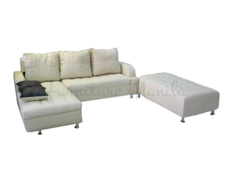 Cyrus l shaped sofabed furniture manila philippines for Affordable furniture manila