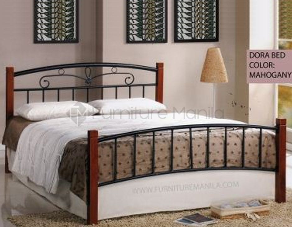 Dora Wooden Post Bed Frame   Home & Office Furniture Philippines
