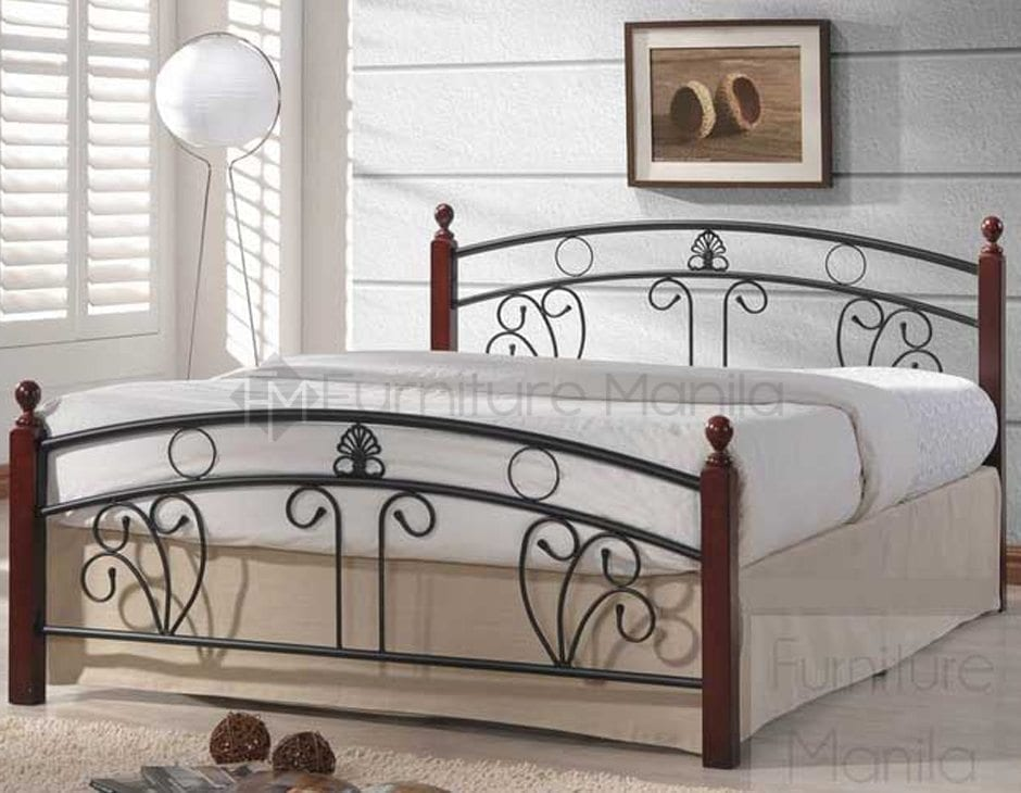 Charmant Nobu Wooden Post Bed Frame