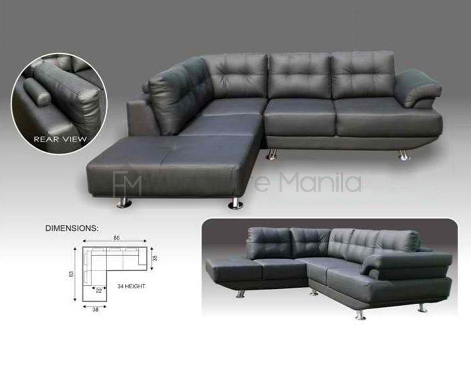 Mhl002 Belarus L Shaped Sofa