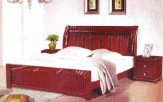 9809 WOODEN BED FRAME_1