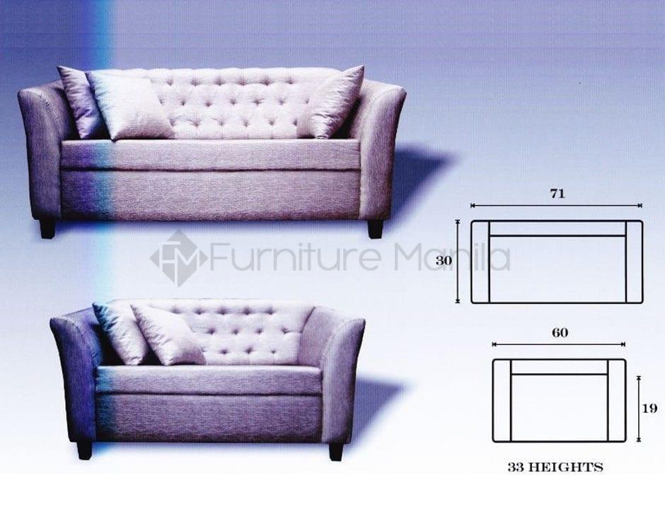 Italia Sofa Set