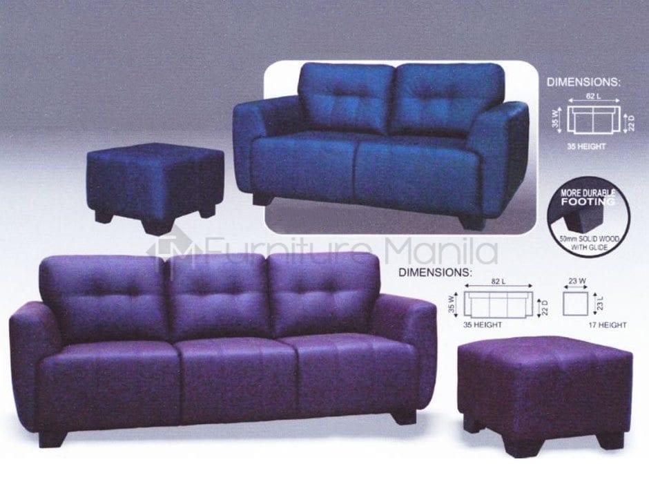 MHL 0025 Zambia And Yemen Sofa With Stool Furniture Manila Philippines