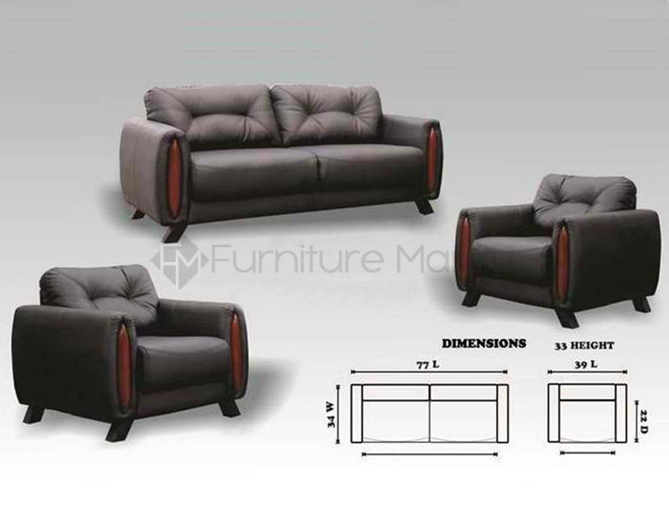 MHL 0029 Montereal Sofa Set