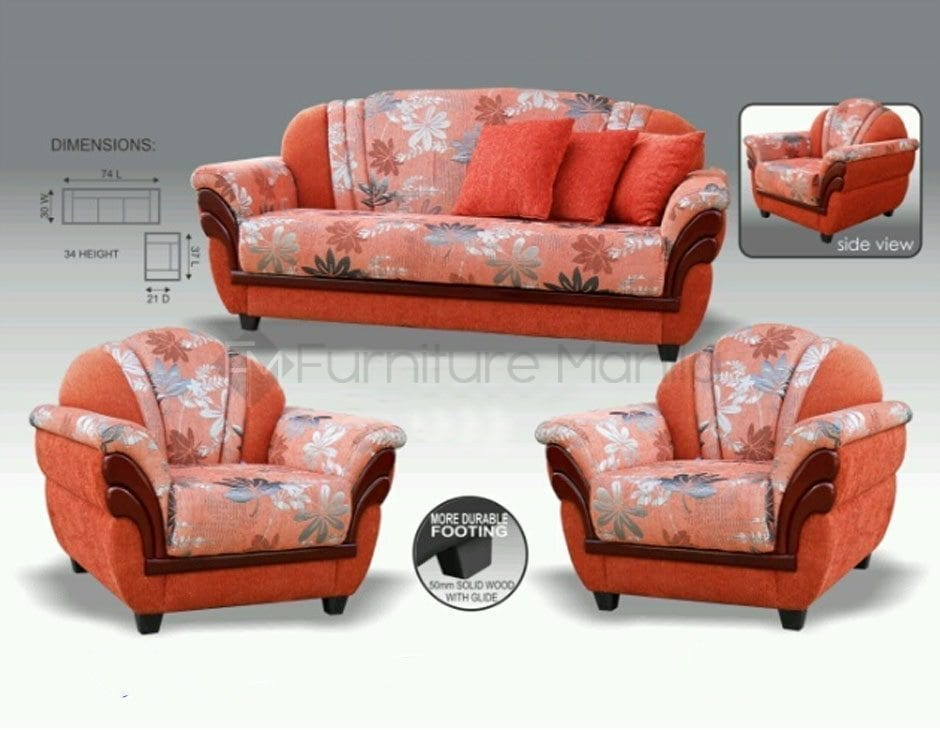Mhl 0038 Libya Sofa Set Home Office Furniture Philippines