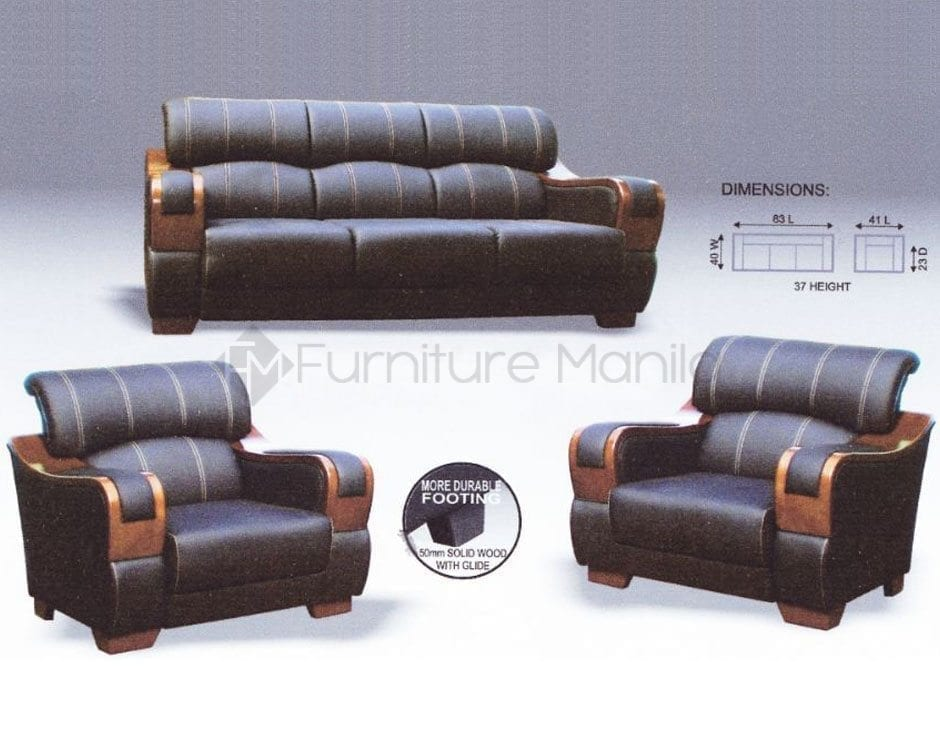 Mhl 004 Dominica Sofa Set Home Office Furniture
