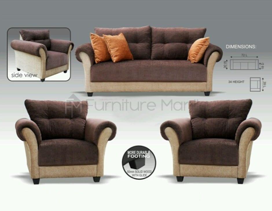 Mhl 0045 Singapore Sofa Set Home Office Furniture