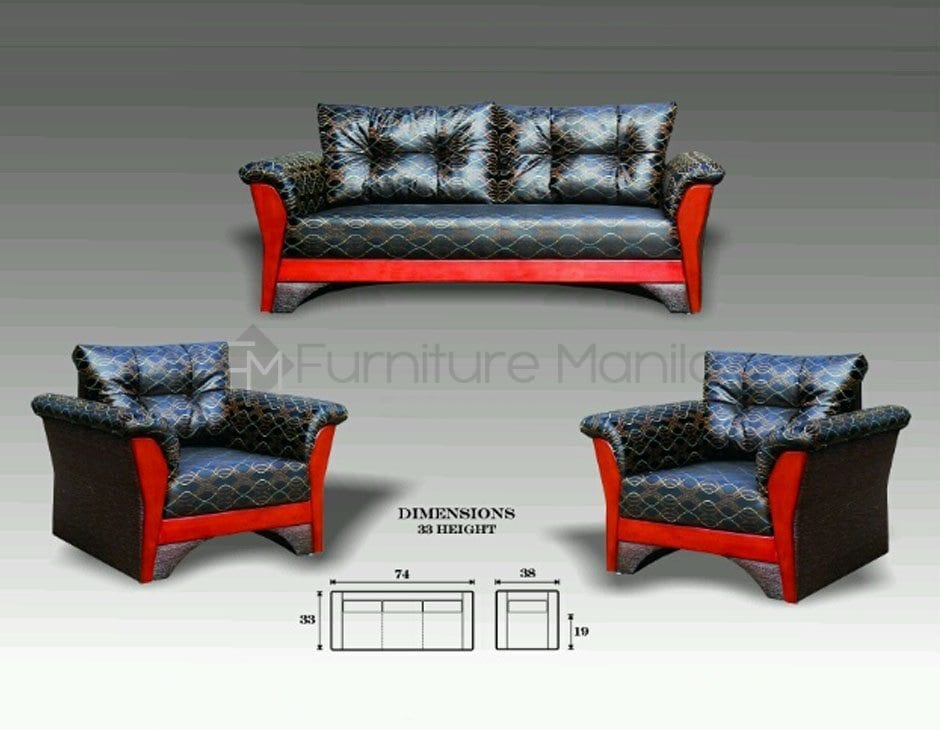 Mhl 0050 Butan Sofa Set Home Office Furniture Philippines