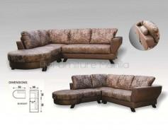 MHL 0058 Bulgaria L-Shaped Sofa