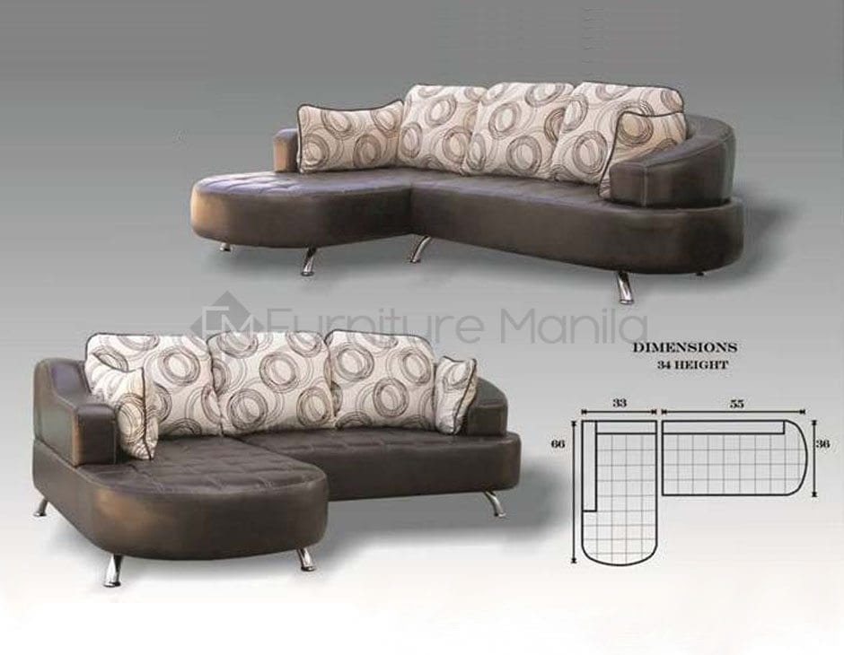 Mhl0064 Ghana L Shaped Sofa Home Office Furniture Philippines