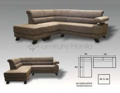 MHL 0071 Trinidad L-Shaped Sofa
