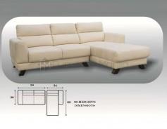 MHL 0072 Azores L-Shaped Sofa