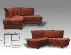 MHL 0078 Philippines L-Shaped Sofa