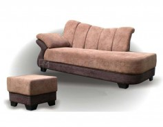 MHL 009 Italy Lounge Sofa with Stool