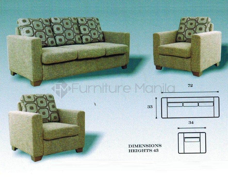 MHL 0125 Lorenzo Sofa Set 311