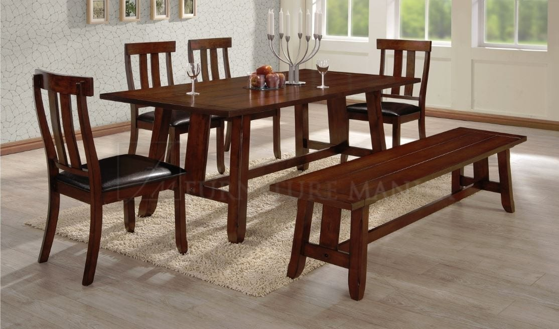 PIA DINING SET 6-SEATER