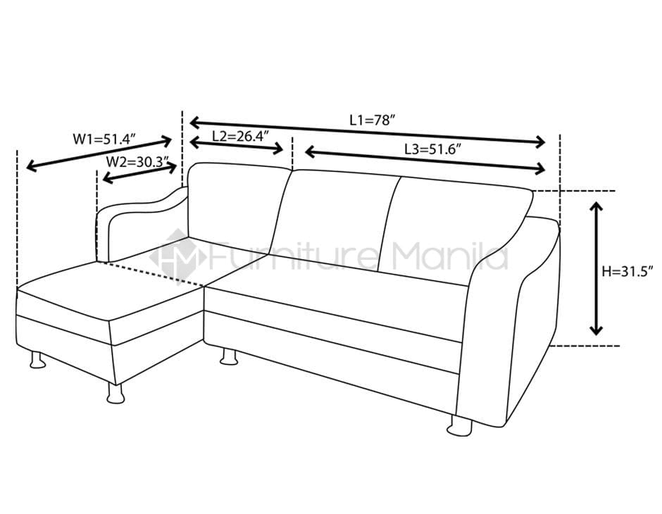 Mhl 002 Belarus L Shaped Sofa Home Amp Office Furniture