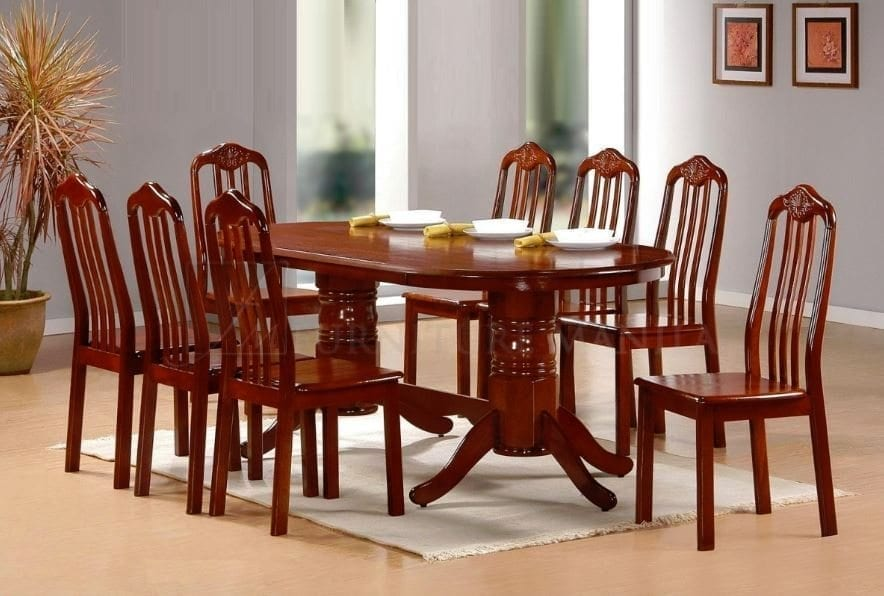 Zoe dining set home office furniture philippines for Dining room sets 8 seats