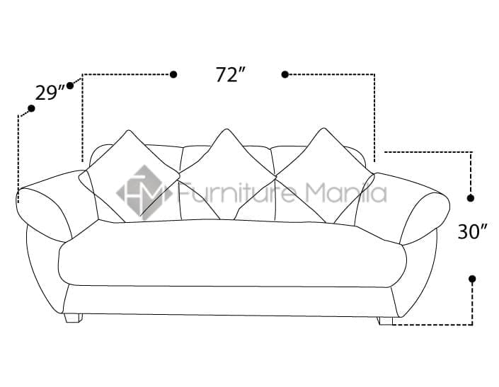 MHL 0028 Brazil Sofa Set