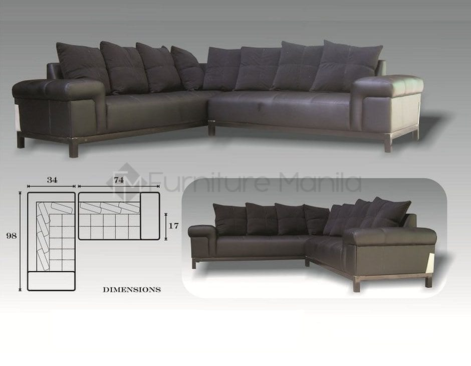 L shaped sofa bed with storage philippines catosferanet for Sectional sofa bed philippines