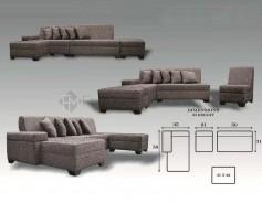Babylyn L-Shaped Sofa