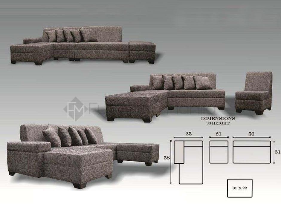 Babylyn L Shaped Sofa