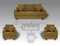 Benissimo Sofa Set
