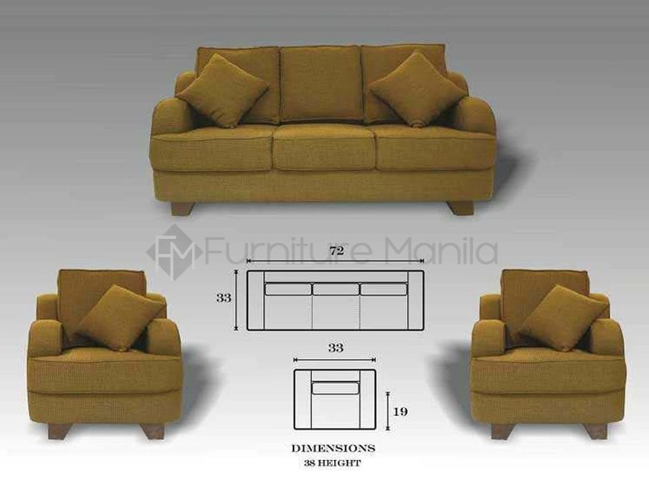 Benissimo Sofa Set Home Office Furniture Philippines