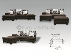 Cherrylyn L-Shaped Sofa with Stool