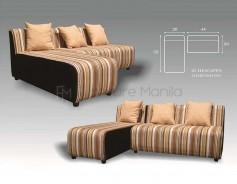 Chin-Chin L-Shaped Sofa