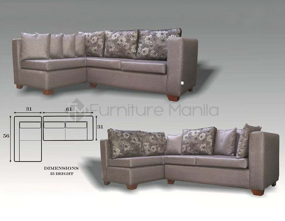 Standard sofa size philippines sofa menzilperde net Home office furniture philippines