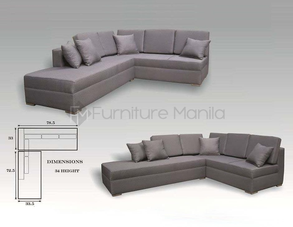 Epira L Shaped Sofa Home Amp Office Furniture Philippines