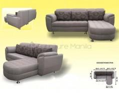 Florida L-Shaped Sofa