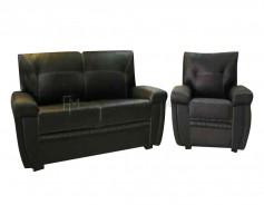 Leandro Leather Sofa Set