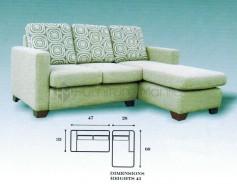 MHL 0124 Jasmin L-Shaped Sofa