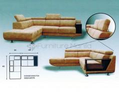 MHL 0133 Florencio L-Shaped Sofa