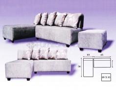 Merlyn L-Shaped Sofa