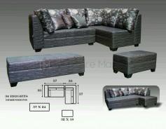 Panamera L-Shaped Sofa