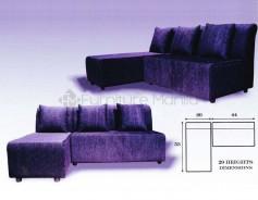 Raf-Raf L-Shaped Sofa