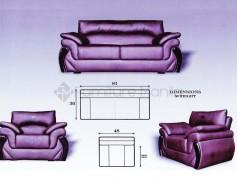 Rockwell Sofa Set