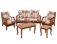 SG3682 Sofa Set with Center and Side Tables