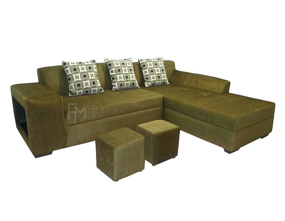 sabatini l shaped sofa with 2 stools furniture manila philippines