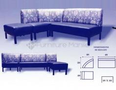 Scoder L-Shaped Sofa