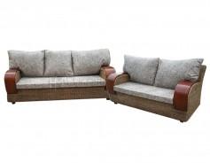Sophie Rattan Sofa Set