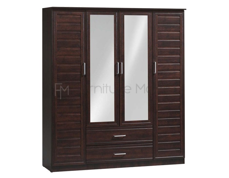 MH9142UM Wardrobe with Mirrors