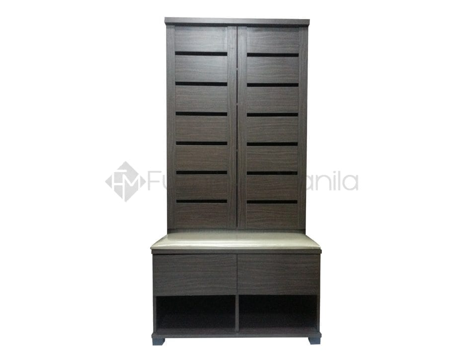 Sc413 shoe cabinet with bench home office furniture philippines Home office furniture philippines