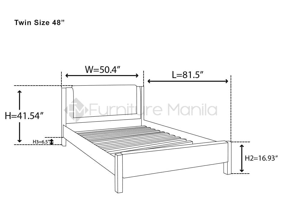 dominic bed frame